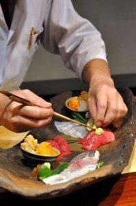 chef sushi paris